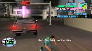 GTA Vice City 04 Pizza Delivery Mission Completed