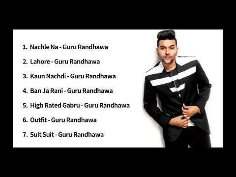 Guru Randhawa Non Stop Songs Pagalworld | Guru Randhawa Non Stop Hit Song | Jukebox Of Guru Randhawa
