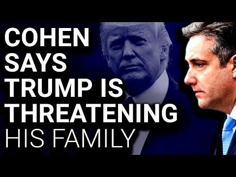 Michael Cohen Postpones Testimony Over Threats from Trump