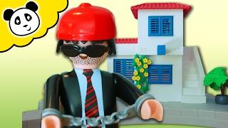 ⭕ PLAYMOBIL POLIZEI  🚨  Hafenpolizei mit Schnellboot  🚨  Spielzeug auspacken & spielen - Pandido TV