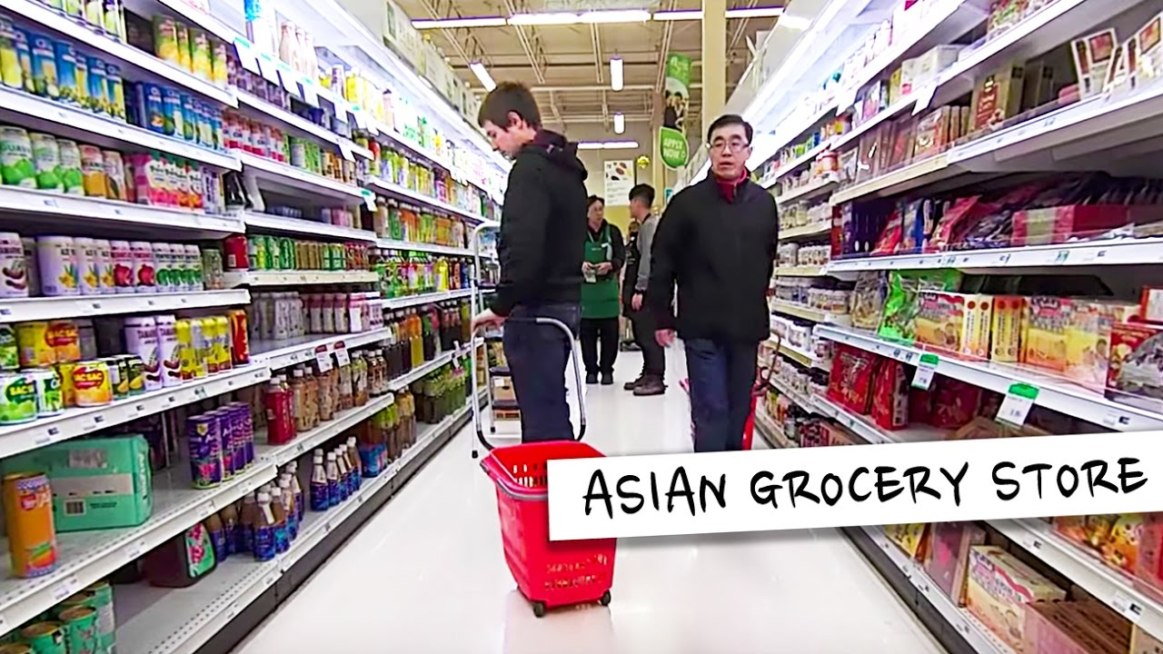 Asian Supermarket Shopping Toronto Canada Youtube
