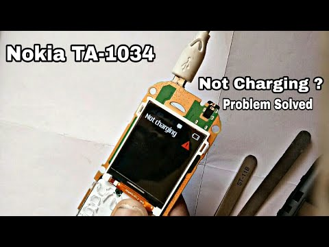 Nokia TA-1034 Not Charging Problem | Charging Problem Solution By SN Info