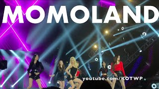 """Momoland performs """"Bboom Bboom"""" and """"BAAM"""" 