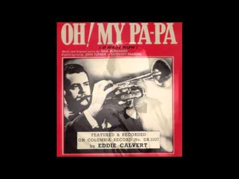 Eddie Calvert 'Oh, Mein Papa' 78 rpm