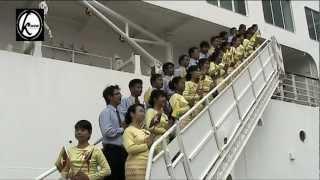Myanmar flag cheer @ Vietnam [38th SSEAYP]