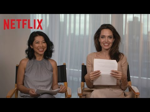 First They Killed My Father  Q&A with Angelina Jolie and Loung Ung HD  Netflix