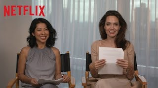 First They Killed My Father Q A With Angelina Jolie And Loung Ung HD Netflix