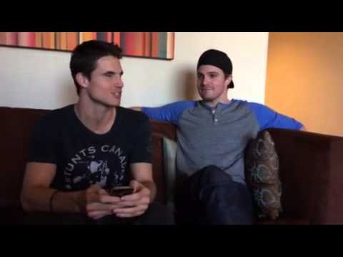 Stephen Amell Part 2 of the Q&A with Robbie Amell