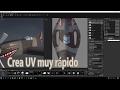 Como hacer UV's para modelos 3D | UV Lay