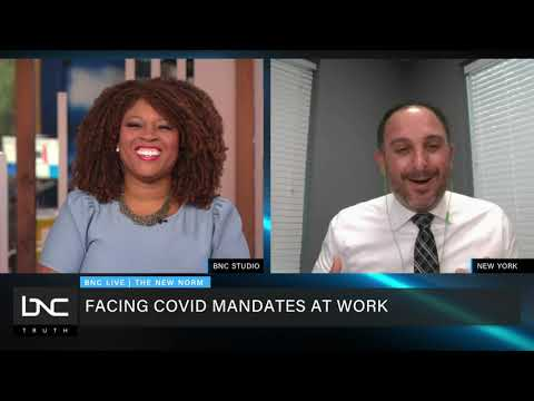 Facing Covid Mandates at Work. Legal analysis with Attorney Andrew Lieb.