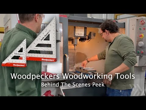 Woodpeckers Store Tour – How Precision Woodworking Instruments Are Made