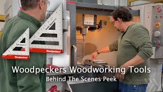 Woodpeckers Shop Tour - How Precision Woodworking Tools Are Made