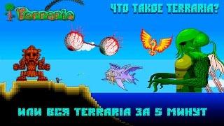Что такое Terraria ? (Или вся terraria в одном видео)