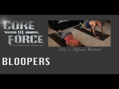 Day 2 of Core de Force - Bloopers - Sphinx Blasters