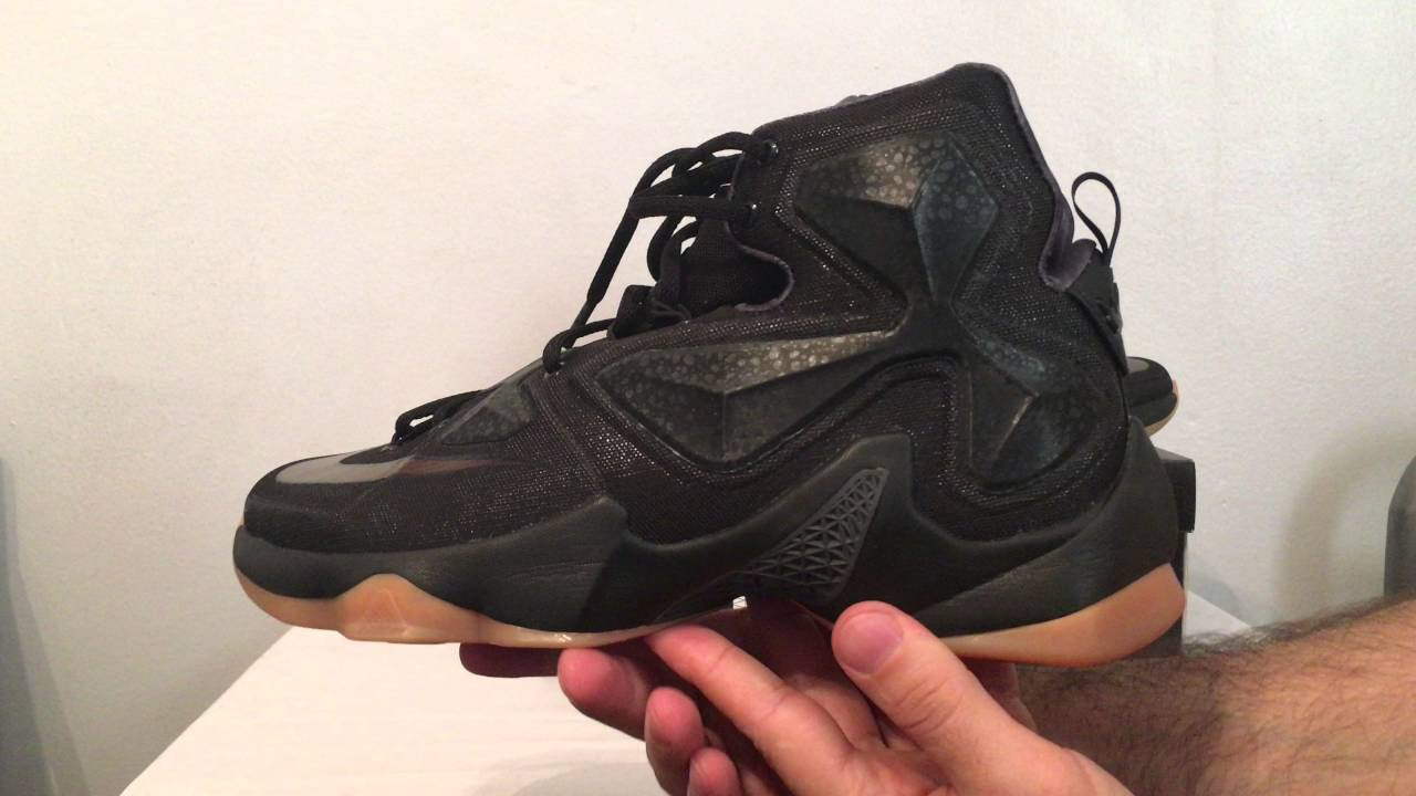 3359494a9be0 Lebron 13 black lion - YouTube