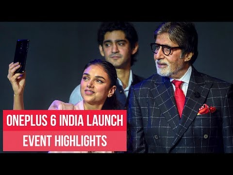 OnePlus 6 India launch: Watch event highlights | ETPanache