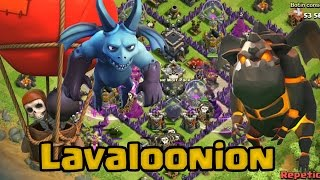 Laloon TH10 vs TH9 sin matar reina | Clash of Clans