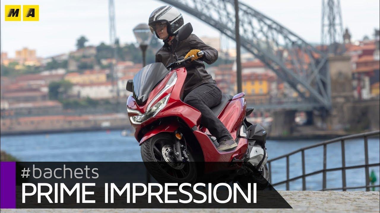 Honda Pcx 125 2018 Test Youtube