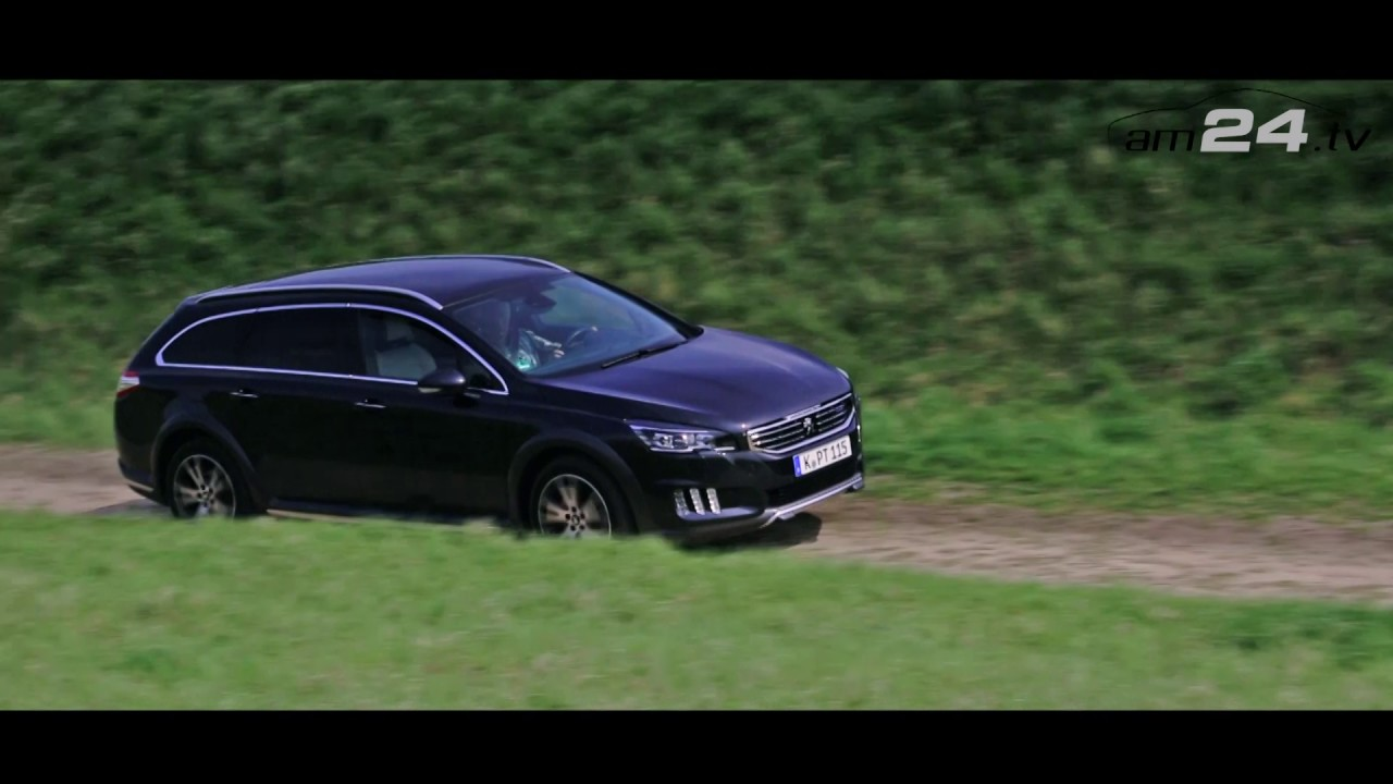 2017 peugeot 508 rxh bluehdi review on am24.tv - youtube