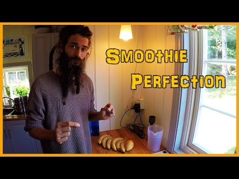 RAW VEGAN SMOOTHIE RECIPE: BANANA MANGO PERFECTION
