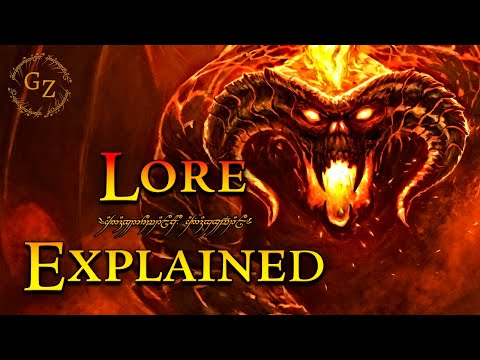 The Balrogs of Morgoth - Lord of the Rings Lore