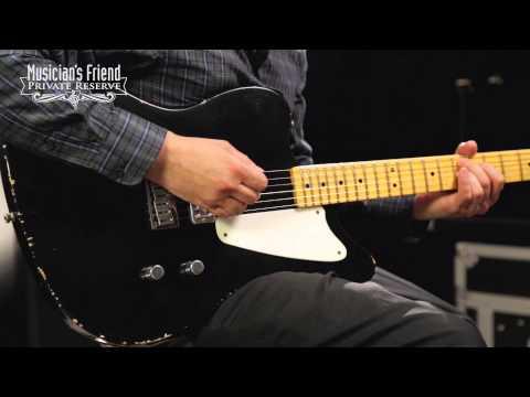 Fender Custom Shop Limited Edition La Cabronita Boracha Reverse Jazzmaster Electric Guitar Black