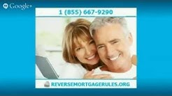**Reverse Mortgage Counseling** | (855) 667-9290 | Reverse Mortgage Rules