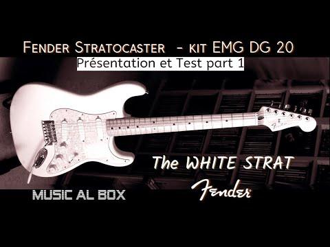 Stratocaster EMG DG 20 Présentation et Test #stratocaster #EMGDG20