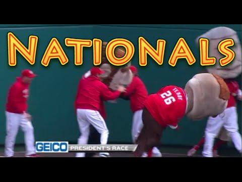 Washington Nationals: Funny Baseball Bloopers