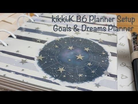 Kikki.K B6 Planner Setup - Goals & Dreams Planner