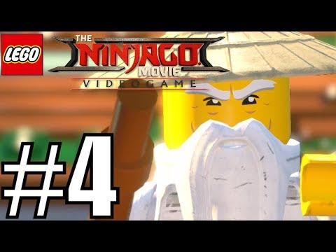 The Lego Ninjago Movie Videogame - Story Walkthrough PART 4 (Wu Falls) HD GAMEPLAY