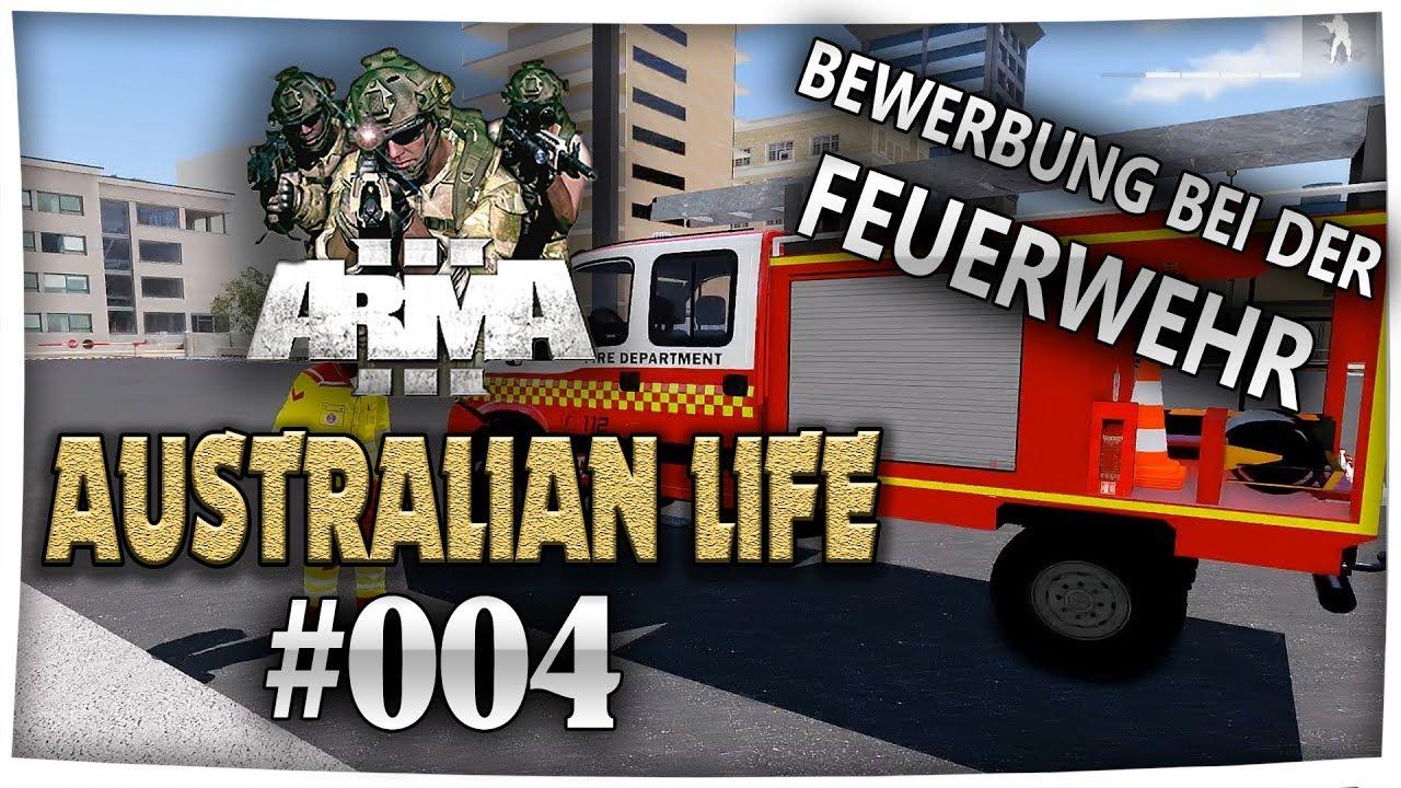 bewerbung bei der feuerwehr arma 3 australian life 4 feuerwehr deutschgerman - Bewerbung Feuerwehr