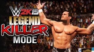 WWE 2K15 Legend Killer Mode - Custom 2K Game Mode