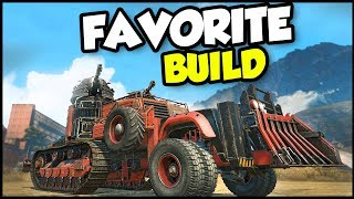 Crossout - My FAVORITE Type Of Build! (Crossout Gameplay)