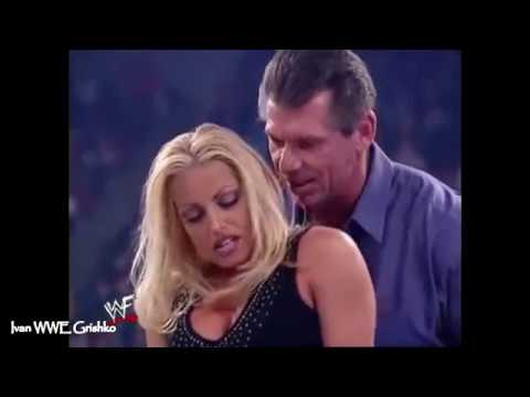 WWE Trish Stratus and Vince Mcmahon SEXY HOT love story highlights WWE Sex Moments thumbnail