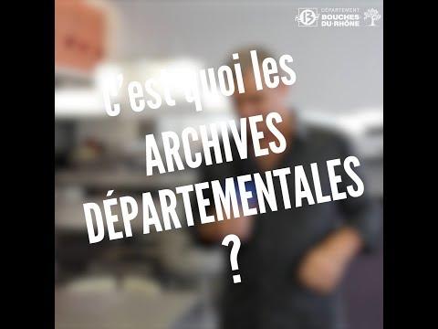 Les Archives, c'est quoi ?