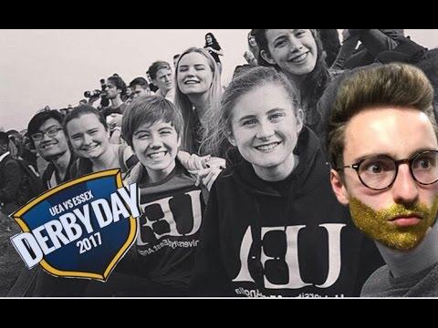 UEA DERBY DAY 2017- GLITTER BEARD