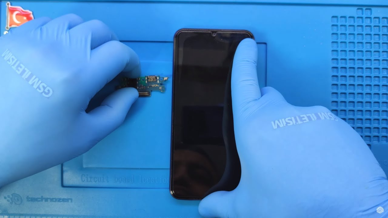 Samsung Galaxy M20 Şarj Soketi Değişimi 🇹🇷