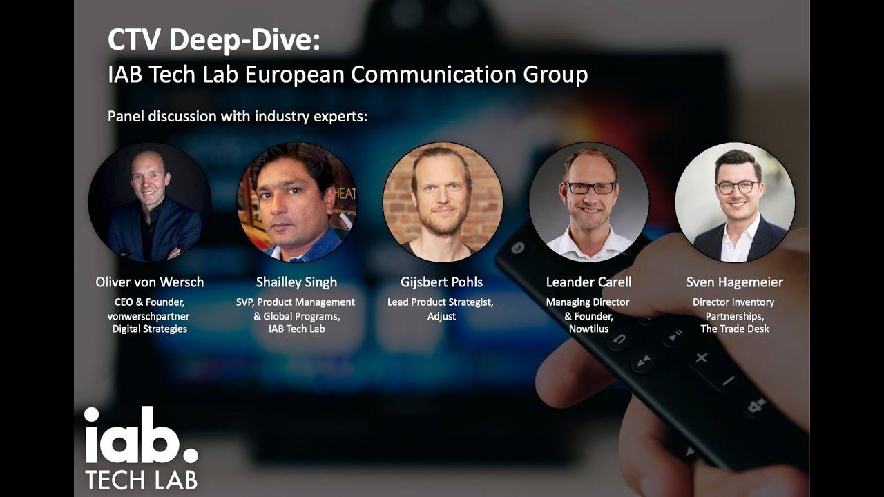 Webinar: CTV Deep Dive with IAB Tech Lab