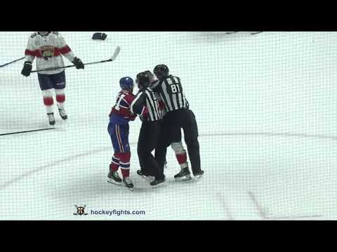 Jonathan Huberdeau vs Paul Byron Sep 19, 2018