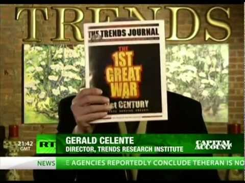 Gerald Celente, the Kleptocrat's Carry-Trade and the Revolution against Financial Occupation