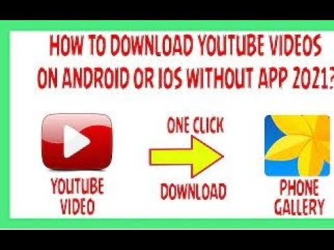 How To Save YouTube Video In Mobile Gallery