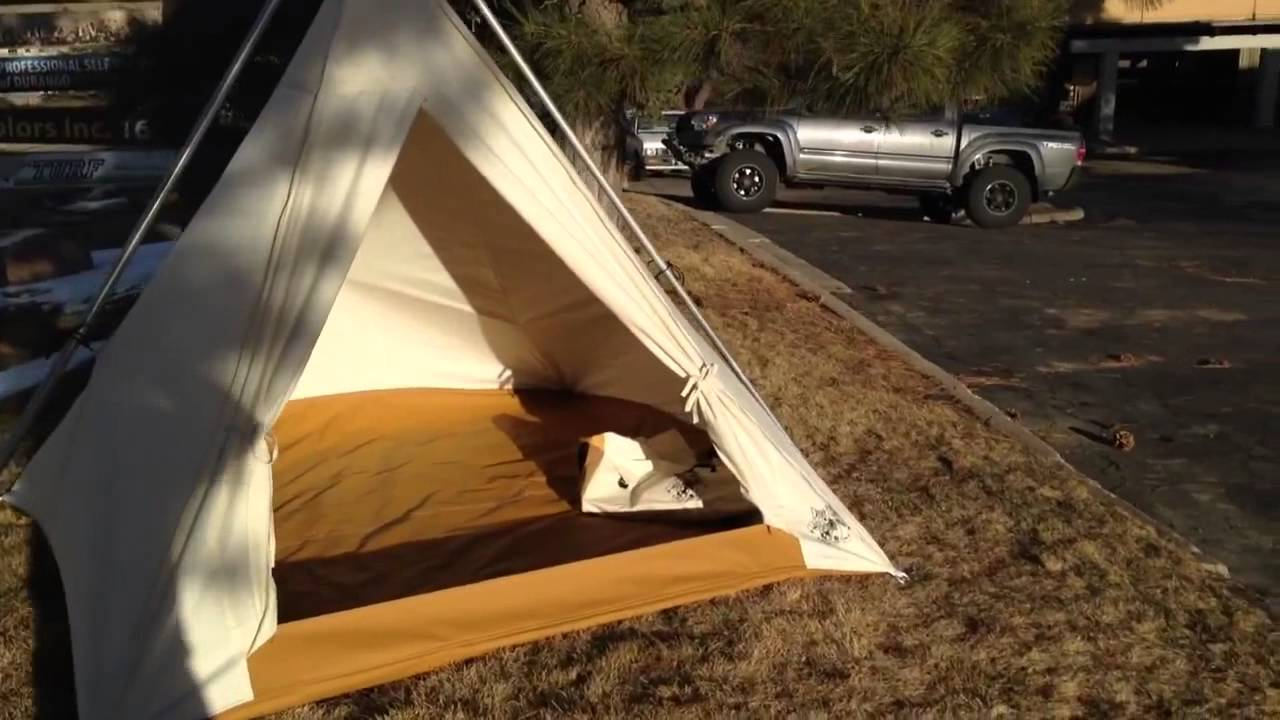 Caleb Explains the 8x8 Range Tent. Ellis Canvas Tents & Caleb Explains the 8x8 Range Tent - YouTube