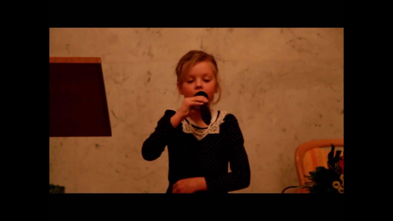 Ein Gedicht Von Alexander Puschkin Vorgetragen Von Agatha Yurchenko