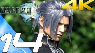 Final Fantasy XIII - Walkthrough Part 14 - Palumpolum & Sanctum Ambush [4K 60FPS]