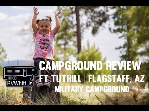 RV ARIZONA - Fort Tuthill Campground Review in Flagstaff, AZ (June 2017)