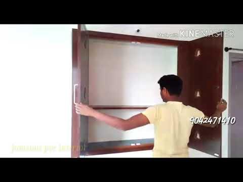 Pvc modular kitchen pvc wardrobe pvc pooja room