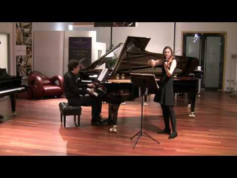 Ludwig v.Beethoven: Violin Sonata No.7 op. 30,2, 3rd Movement - Franziska Hölscher, Benjamin Moser