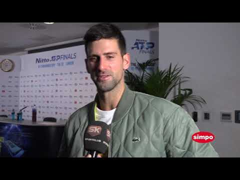 Djokovic interview post Fed match with a Serbian channel