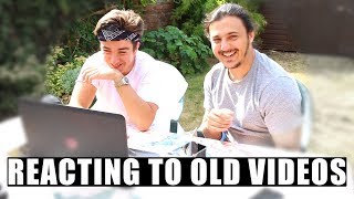 REACTING TO MY FIRST EVER VIDEO WITH MOJO...